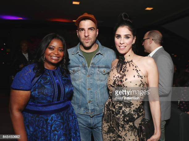 Octavia Spencer Zachary Quinto and Sarah Silverman attend Fox Searchlight's Toronto Film Festival Party on September 10 2017 in Toronto Canada