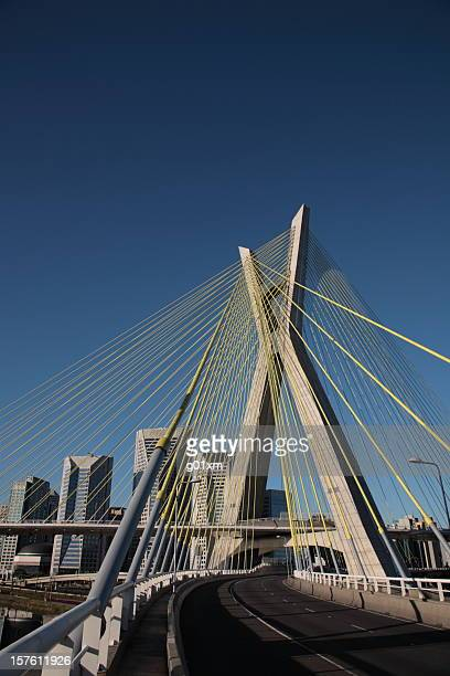Octavio Frias de Oliveira Bridge in Sao Paulo, Brazil