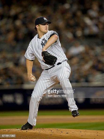 NY Yankees Vs Minnesota Twins Game 3 ALDS Yankees starting pitcher Phil Hughes