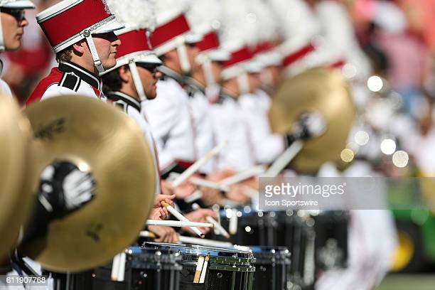 South Carolina Gamecocks Marching Band before the start at WilliamsBrice Stadium between the South Carolina Gamecocks and the Texas AM Aggies in...