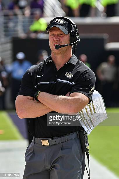 UCF Knights head coach Scott Frost in a game between the East Carolina Pirates and the Central Florida Knights at DowdyFicklen Stadium in Greenville...
