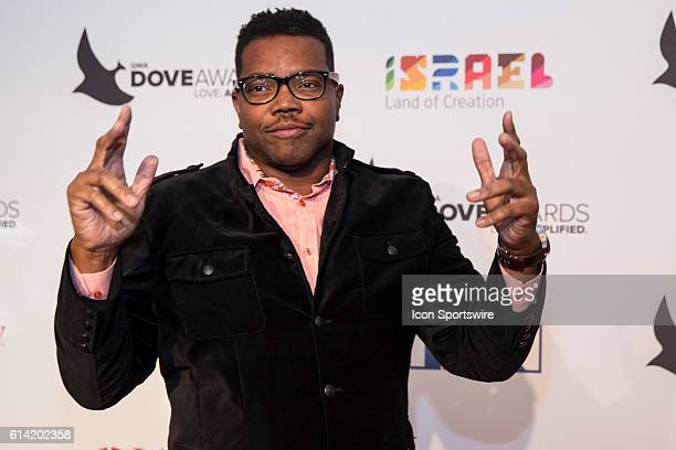 Bone Hampton arrives at the Red Carpet at the 47th Annual Gospel Music Association Dove Awards at Allen Arena in Nashville Tennessee