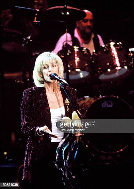VIEW CA October 15 Christine McVie of Fleetwood Mac performing at Shoreline Amphitheater Event held on October 15 1997 in Mountain View California
