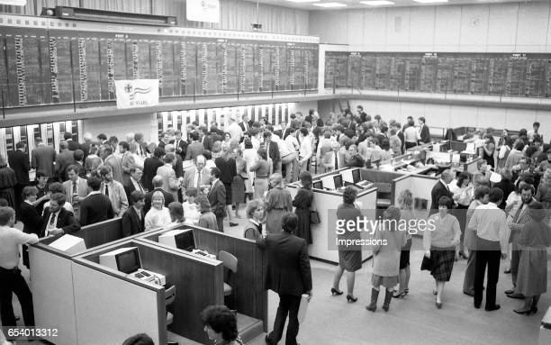 The Melbourne Stock Exchange one hundred years after it was originally formed At this time it was located at 351 Collins Street Melbourne In 1980 the...