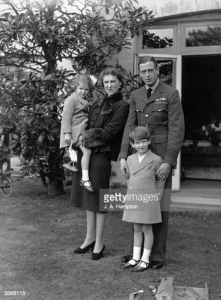 Duke and Duchess of Kent Princess Marina of Greece and Denmark and George Edward Alexander Edmund with their children Prince Edward George Nicholas...