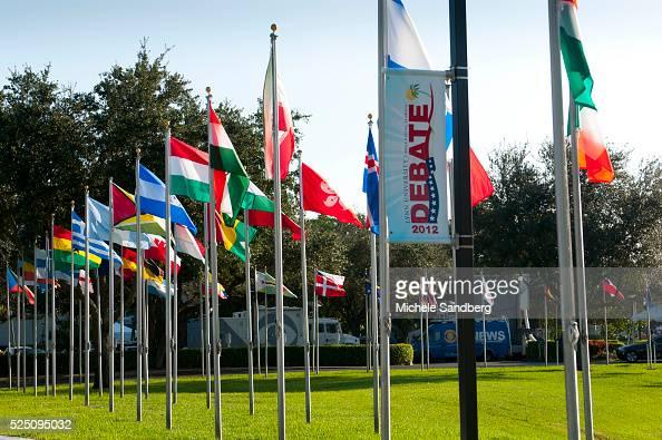 October 20 2012 Lynn University Prepares For The Presidential Debate