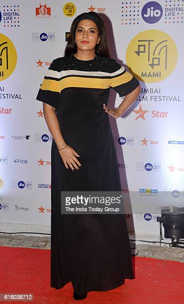 Richa Chadda during the opening ceremony of Jio MAMI 18th Mumbai Film Festival at the Royal Opera House in Mumbai