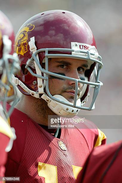 USC quarterback Matt Leinart was 2640 for 360 yards and a touchdown in todays 4221 win over Arizona at the Los Angeles Memorial Coliseum in Los...