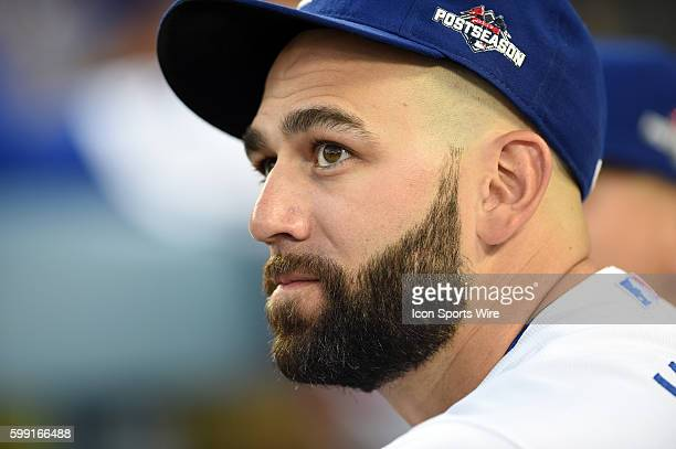 Los Angeles Dodgers Pitcher Chris Hatcher [6729] prior to game 1 of the NLDS between the New York Mets and the Los Angeles Dodgers at Dodger Stadium...