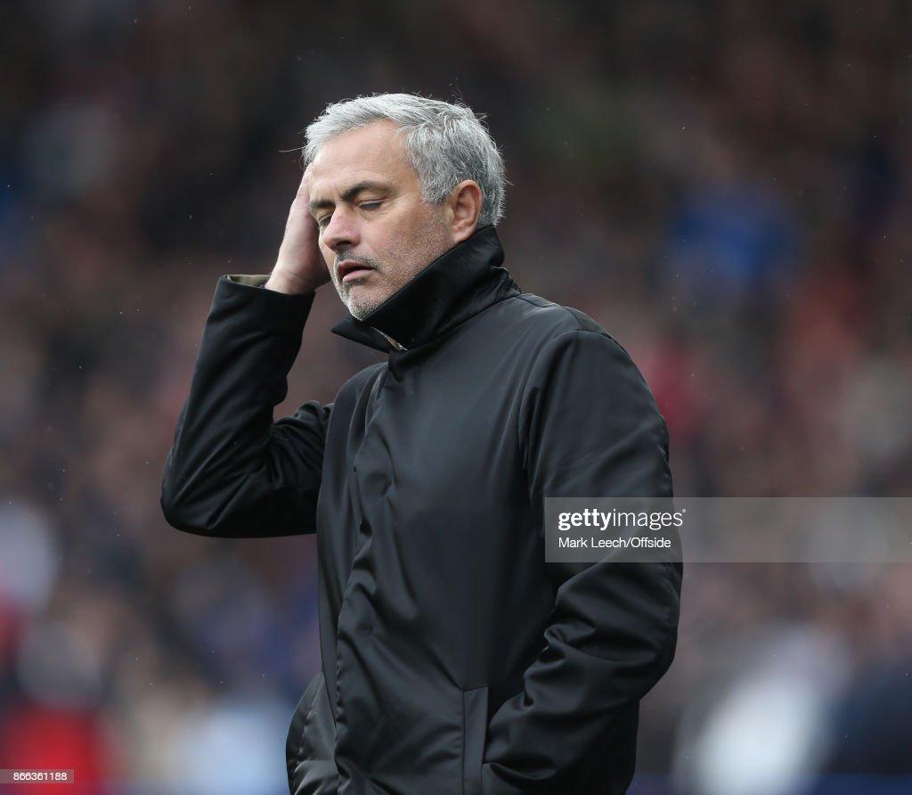 Huddersfield Town v Manchester United: United manager Jose Mourinho.
