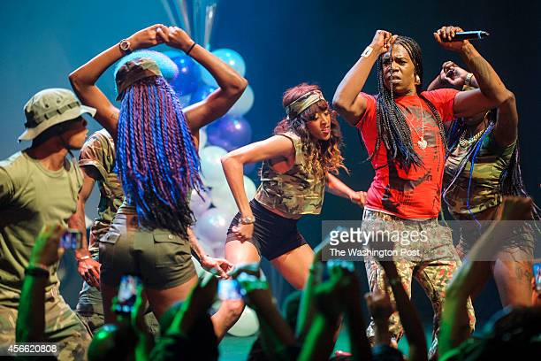 WASHINGTON DC October 2nd 2014 Big Freedia performs at the Howard Theatre in Washington DC Freedia is credited with bringing New Orleans 'bounce...