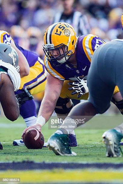 October 3 Eastern Michigan Eagles at LSU Tigers LSU Tigers guard Ethan Pocic during a game in Baton Rouge Louisiana
