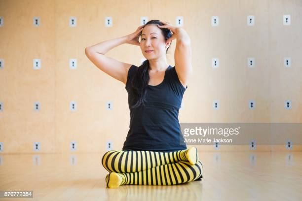 TORONTO ON October 31 2017 YuMee Chung showcases Bee Breath for The Moves at Octopus Garden Holistic Yoga Centre