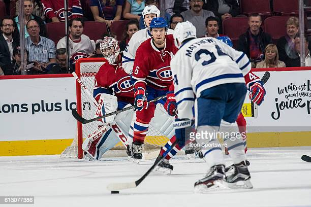 Toronto Maple Leafs center Auston Matthews gets set to shoot on net during the third period of a preseason NHL game between the Toronto Maple Leafs...