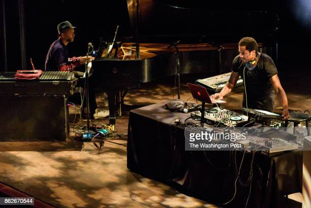 WASHINGTON DC October 6th 2017 Jason Moran and QTip perform a musical collaboration at the opening event for The John F Kennedy Center's inaugural...