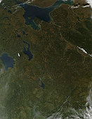 October 7, 2010 - Fall colors in northwestern Russia.