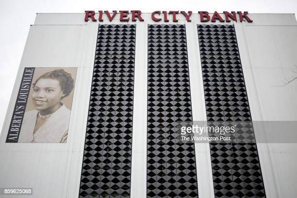 LOUISVILLE KY October 9 A commemorative banner honoring slain civil rights attorney Alberta Jones is pictured in Louisville Ky on Monday October 9...