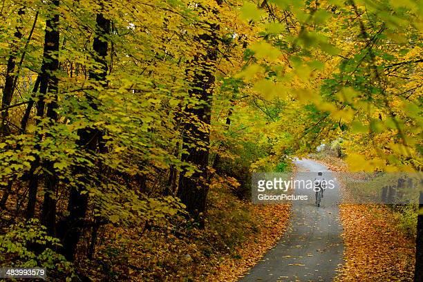Oktober Straße Radfahren
