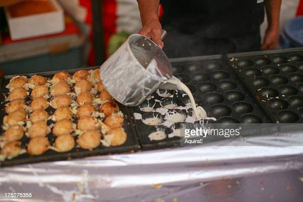octopus dumpling