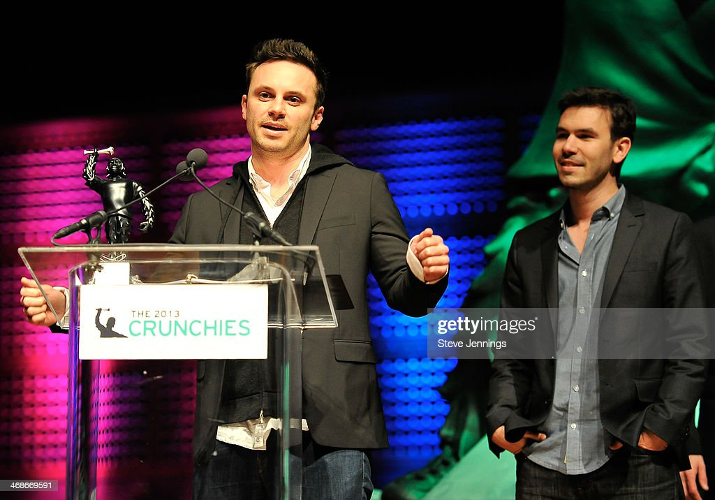 Oculus wins the award for Best Hardware Startup at the 7th Annual Crunchies Awards at Davies Symphony Hall on February 10, 2014 in San Francisco, California.
