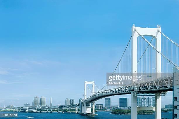 Odaiba rainbow bridge
