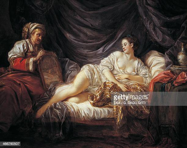 Odalisque painting by JeanBaptiste Le Prince oil on canvas