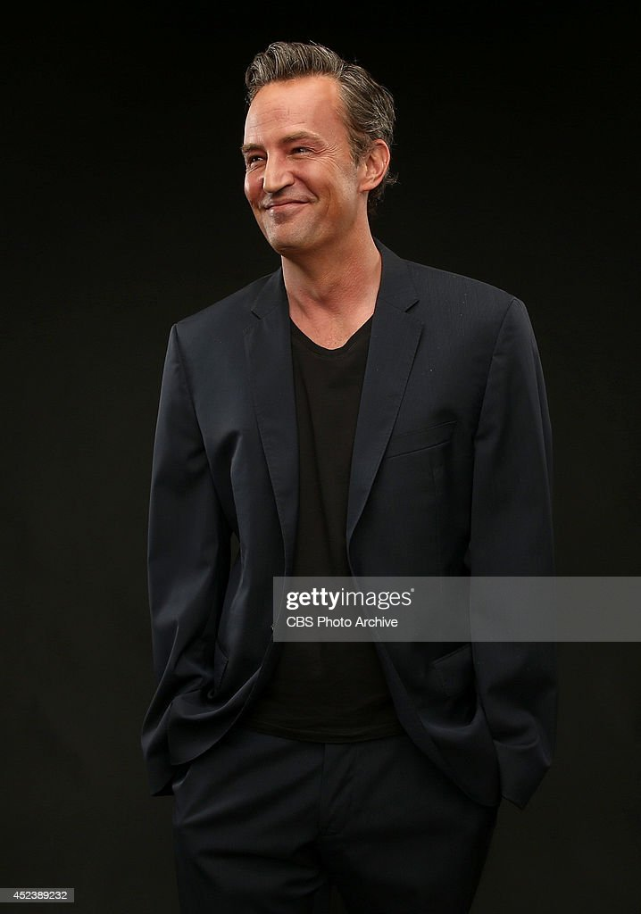 CBS' 'Odd Couple' actor Matthew Perry poses for a portrait during CBS' 2014 Summer TCA tour at The Beverly Hilton Hotel on July 17 2014 in Beverly...