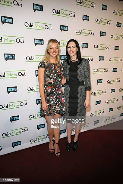 OUT Odd Mom Out Premiere Screening Pictured Abby Elliott and Jill Kargman at Bravo's Odd Mom Out Premiere Screening at Florence Gould Hall