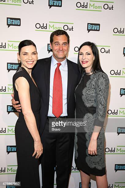 OUT Odd Mom Out Premiere Screening Pictured Julianna Margulies Andy Buckley Jill Kargman at Bravo's Odd Mom Out Premiere Screening at Florence Gould...