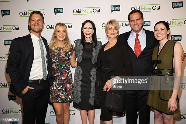 OUT Odd Mom Out Premiere Screening Pictured Sean Kleier Abby Elliott Jill Kargman Joanna Cassidy Andy Buckley KK Glick at Bravo's Odd Mom Out...