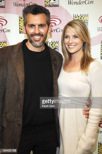 Oded Fehr Ali Larter during WonderCon Day 2 at Moscone Center in San Francisco California United States