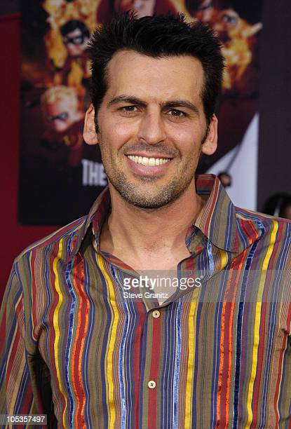Oded Fehr during 'The Incredibles' Los Angeles Premiere Arrivals at El Capitan in Hollywood California United States
