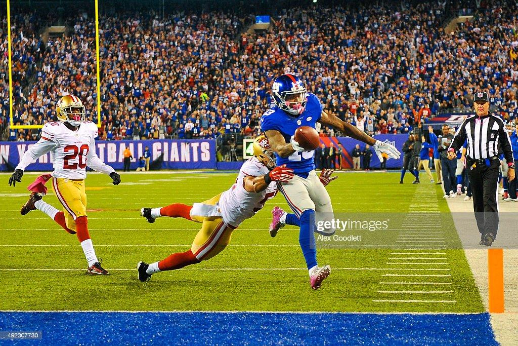 Jerseys NFL Outlet - San Francisco 49ers v New York Giants | Getty Images