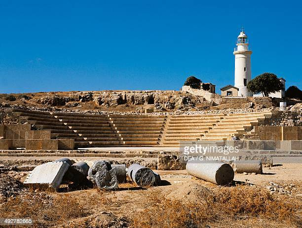 Odeon 2th century AD Paphos Cyprus Hellenistic and Roman civilisations