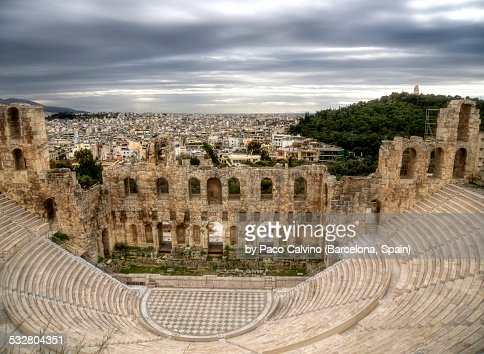 Odeon of Herodes Atticus. Athens, Greece