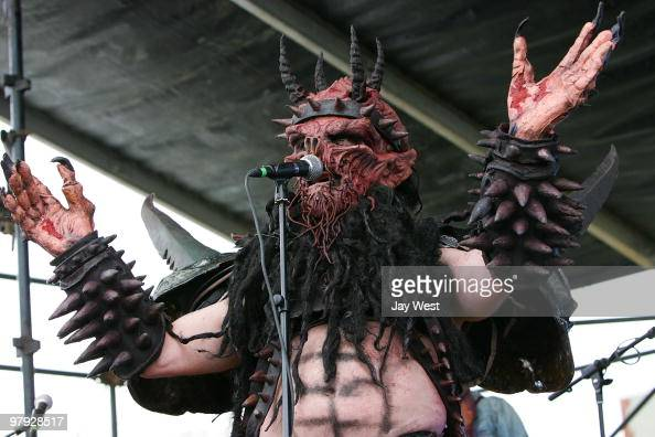 Oderus Urungus at the Mess With Texas Party on March 20 2010 in Austin Texas