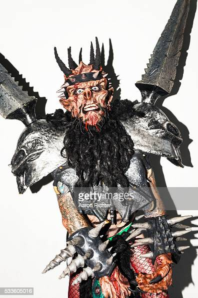 Oderus Urungus of GWAR is photographed for Inked Magazine in Richmond Virginia PUBLISHED IMAGE