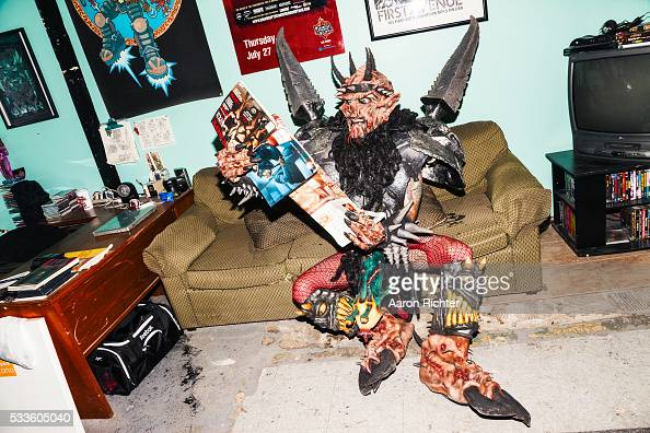 Oderus Urungus of GWAR is photographed for Inked Magazine on August 1 2013 in Richmond Virginia PUBLISHED IMAGE