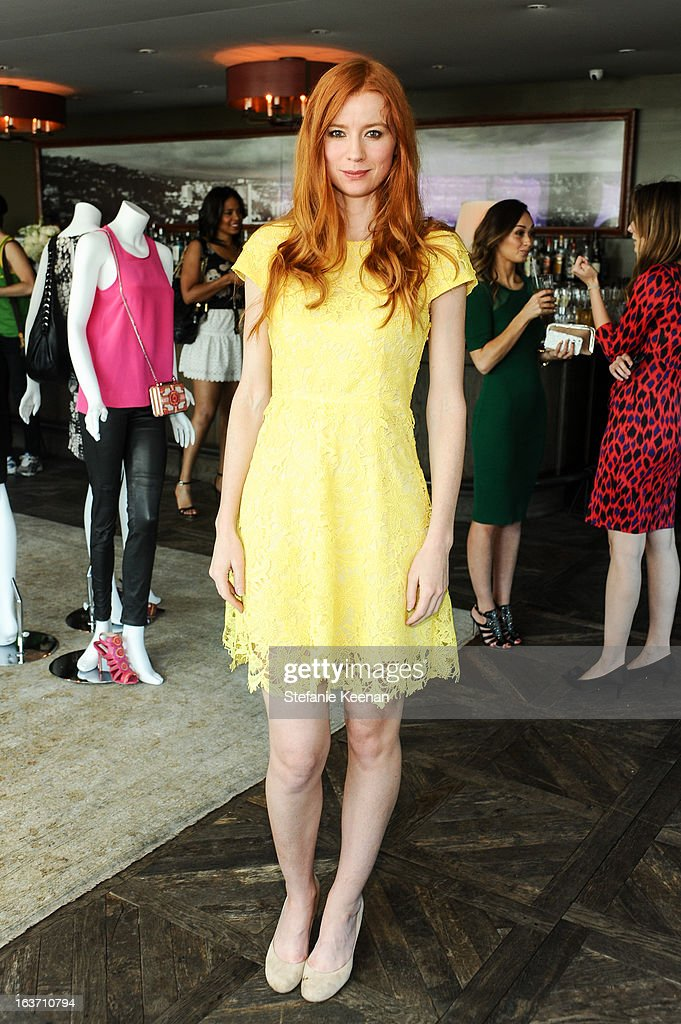 Odessa Rae attends L.K. Bennett Tea Luncheon on March 14, 2013 in West Hollywood, California.