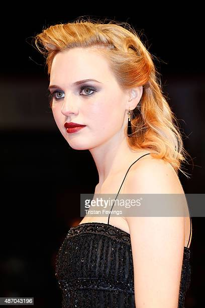 Odessa Young attends the premiere of 'Equals' during the 72nd Venice Film Festival at Sala Grande on September 5 2015 in Venice Italy