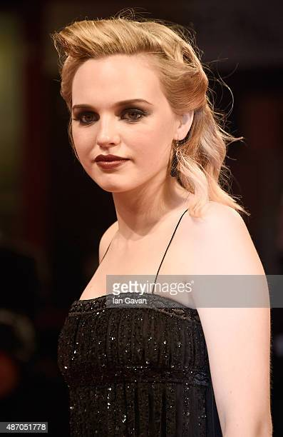Odessa Young attends the premiere of 'Equals' during the 72nd Venice Film Festival at the Sala Grande on September 5 2015 in Venice Italy