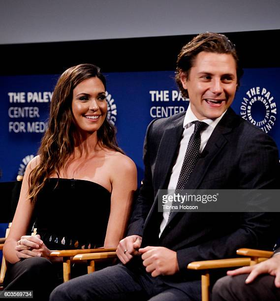 Odette Annable and Augustus Prew attend The Paley Center for Media's PaleyFest 2016 fall TV preview for CBS at The Paley Center for Media on...