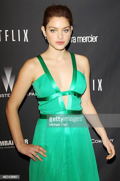 Odeya Rush arrives at The Weinstein Company and NetFlix 2014 Golden Globe Awards after party held on January 12 2014 in Beverly Hills California