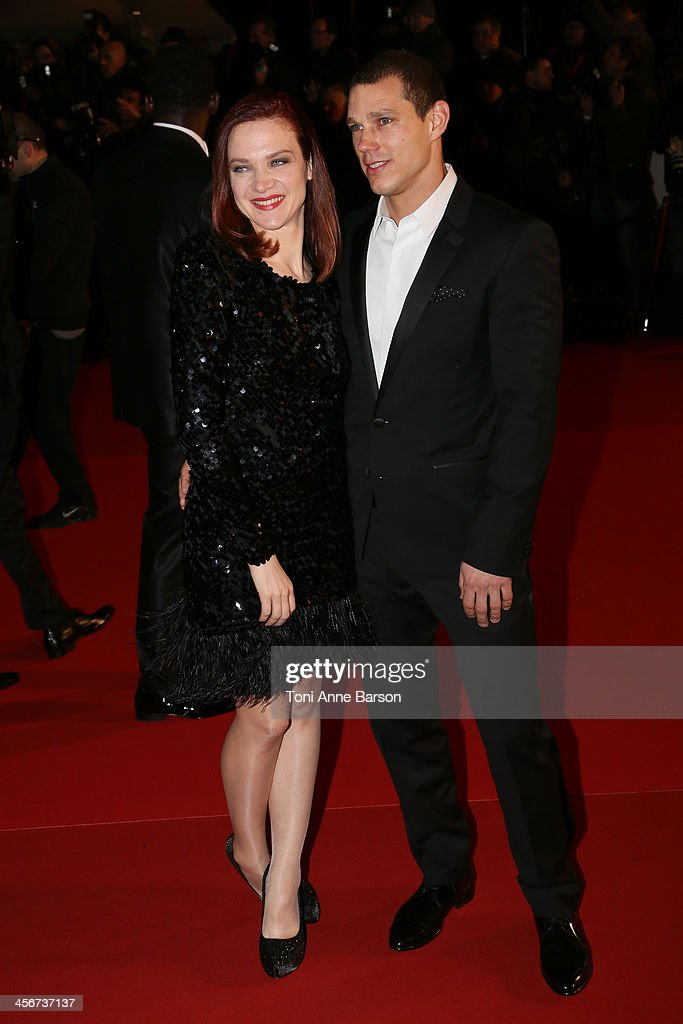 Odile Vuillemin arrives at the 15th NRJ Music Awards at the Palais des Festivals on December 14, 2013 in Cannes, France.