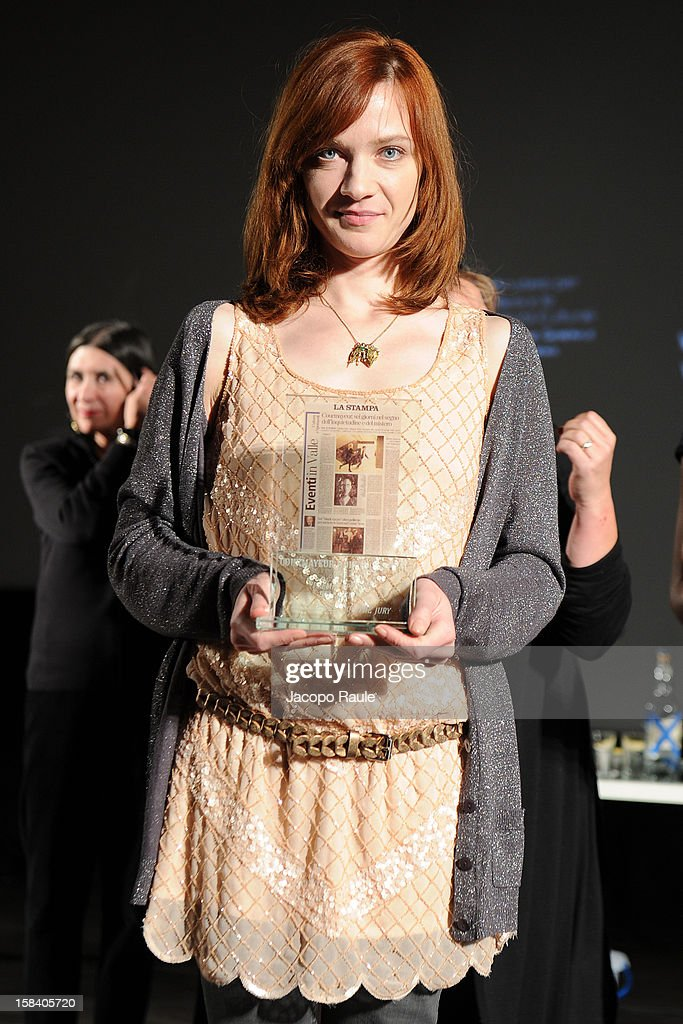 Odile Vuillemin attends the 22th Courmayeur Noir In Festival on December 15, 2012 in Courmayeur, Italy.