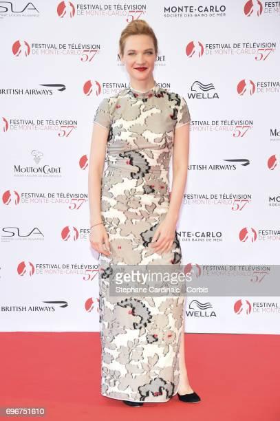Odile Vuillemin attends the 57th Monte Carlo TV Festival Opening Ceremony on June 16 2017 in MonteCarlo Monaco