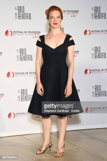 Odile Vuillemin attends the 'The Bold and The Beautiful' 30th Years anniversary during the 57th Monte Carlo TV Festival Day 3 on June 18 2017 in...