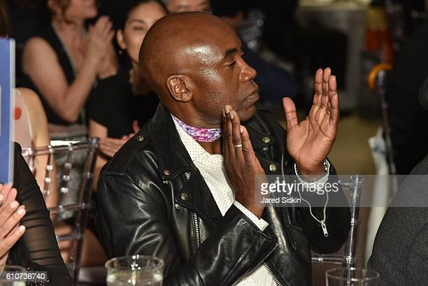 Odili Odita attends Abstracted Black Tie Dinner Hosted by Pamela Joyner Fred Giuffrida and the Ogden Museum of Southern Art to Celebrate the Artists...