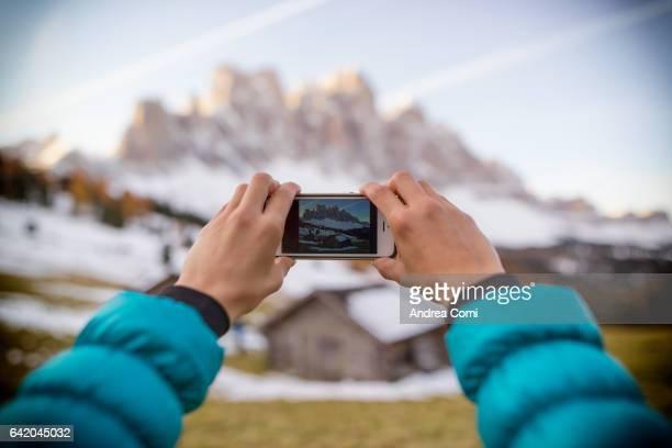 Odle, Trentino alto Adige, Italy, Europe.