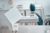 Tooth security blank card